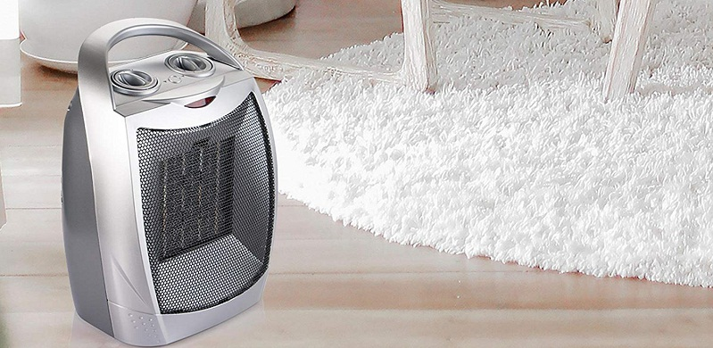 1500W 750W Ceramic Space Heater with Overheat Protection