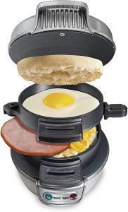 Hamilton Beach Breakfast Sandwich Maker 25475A
